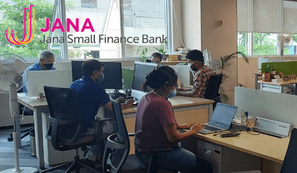 Jana Small Finance Bank breaks physical barriers between senior leaders and staff
