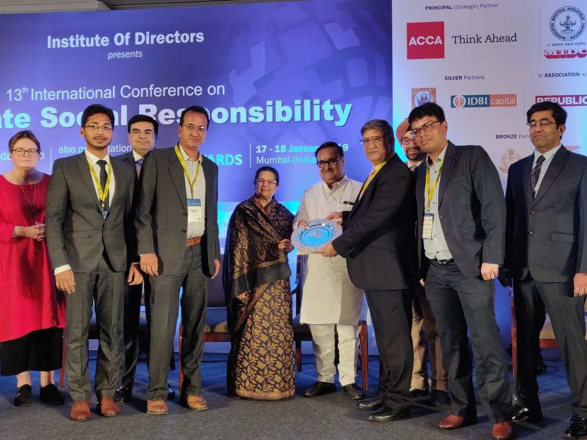 Golden Peacock HR Excellence Award 2018 for Tata Steel