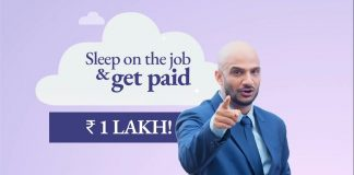 A company that will pay you to sleep!